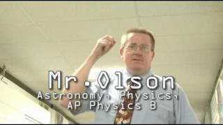 MR. OLSON -  PHYSICS & ASTRONOMY EDUCATOR @ CRESPI HIGH SCHOOL