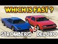 GTA ONLINE : STROMBERG VS DELUXO ( WHICH IS FAST ? )