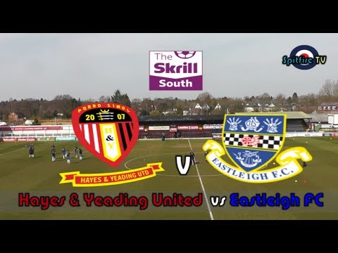 Hayes & Yeading United vs Eastleigh FC 30/03/14