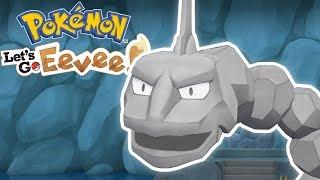 BROCK'S ONIX! - Pokemon Let's Go Pikachu and Eevee - Ep 2