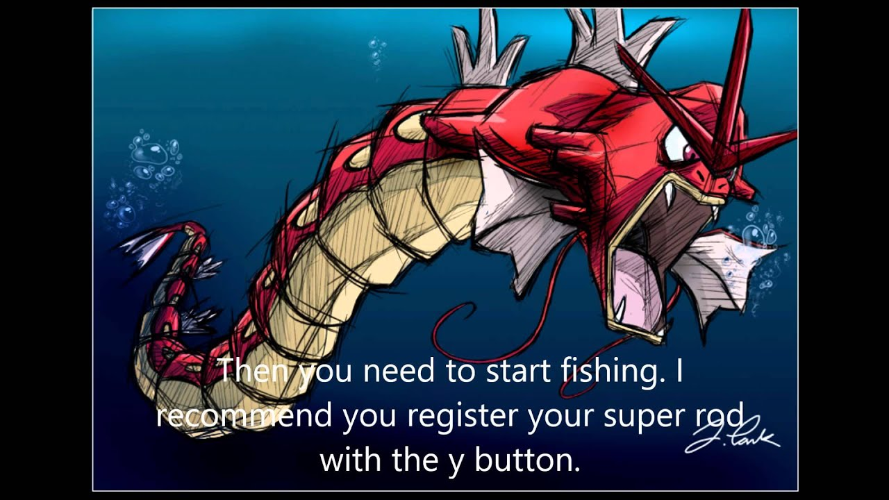 How To Catch The Red Gyarados In Pokemon Diamond Pearl