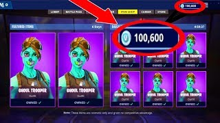 BUYING MY BROTHER 100,000 V BUCKS With His REACTION! | Fortnite Battle Royale!