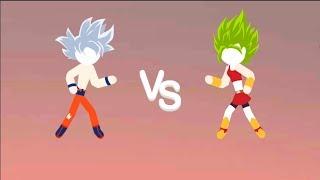 💛 Dragon Ball STick Shadow War Fight APK#1💛 GOKU UI | Andoird Gameplay FHD | Animugen2048