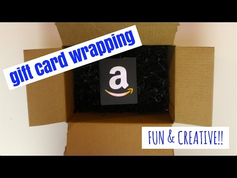 Fun Easy Ways To Wrap A Gift Card Youtube