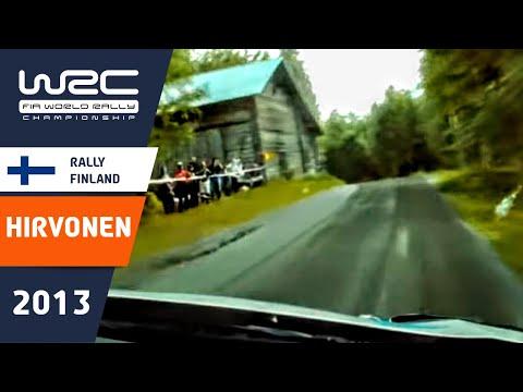 Mikko Hirvonen Onboard SS10 @ Neste Oil Rally Finland 2013