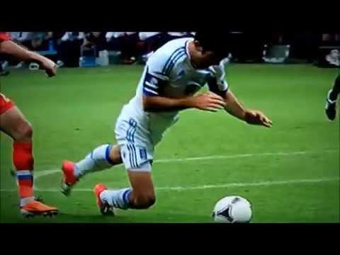 Greece v Russia, Euro 2012,Karagounis,