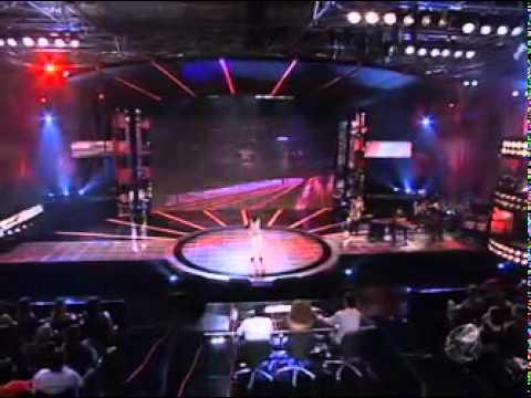 14092010   Israel Lucero Volta Ao Palco Para Cantar Música Escolhida Pelo Público No Ídolos 2010