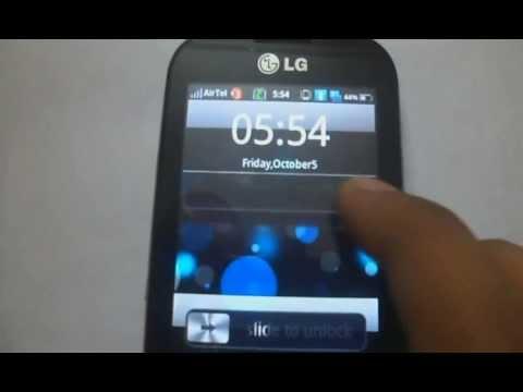 Joy OSCustom Rom LG Optimus ME P350 HD