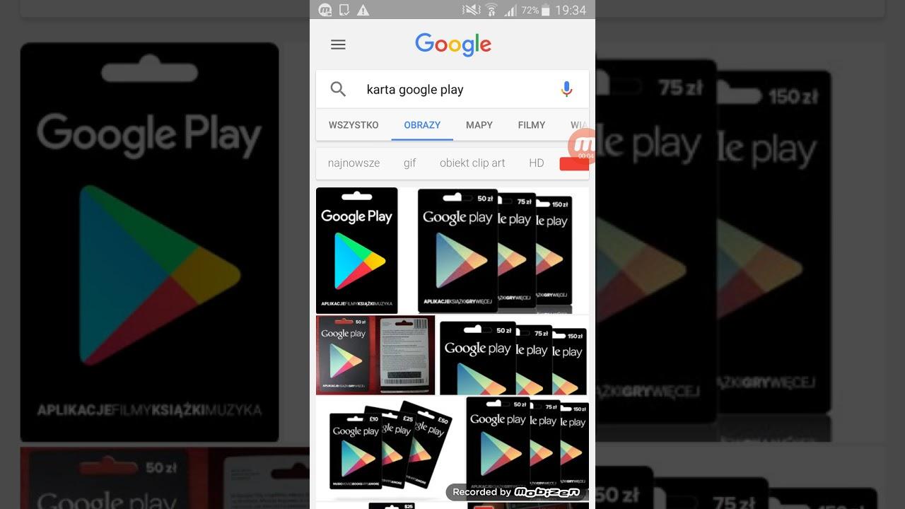 Jak Kupowac Rzeczy W Sklepie Play Za Pomoca Karty Google Play Youtube