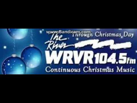 """25 Days of Christmas Radio 2016: Day 15: WRVR """"104.5 The River"""" Station ID December 15, 2016 10:00am"""