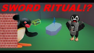 FINDING A SWORD RITUAL IN ROBLOX HIGHSCHOOL 2!!!
