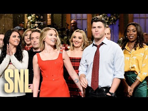 Scarlett Johansson Holiday Monologue - SNL