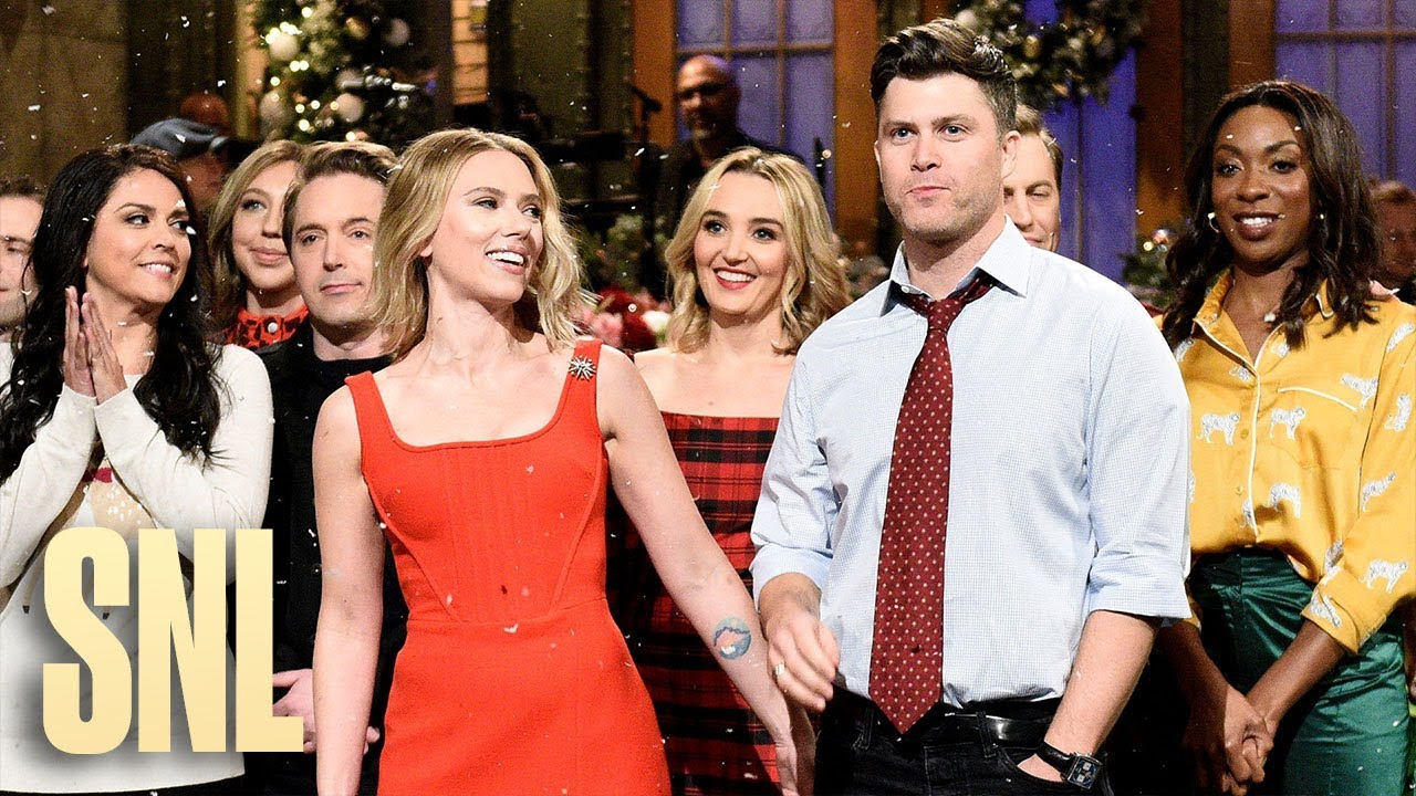 Scarlett Johansson Helps Save 'SNL' Cast From Thanos' Snap In ...