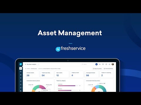 Asset Management in Freshservice