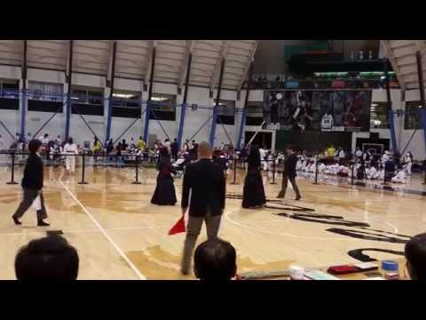 Kendo 2015 Nikkei Games  Women's Finals