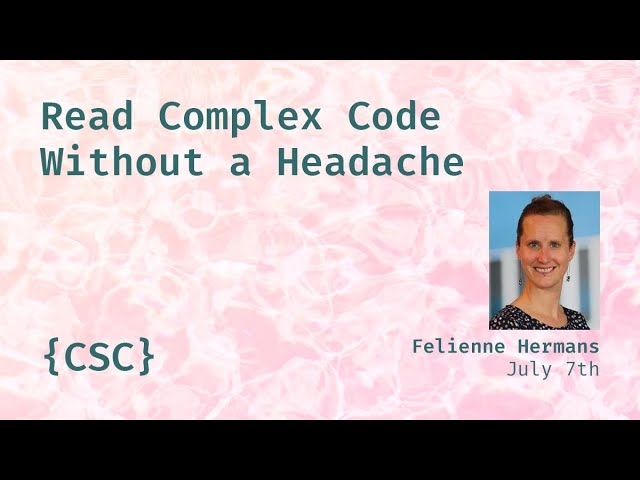 Promo image for Read Complex Code Without a Headache
