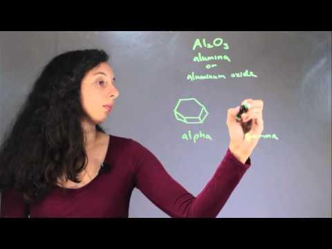 The Solubility of Alpha vs. Gamma Alumina : Chem Class