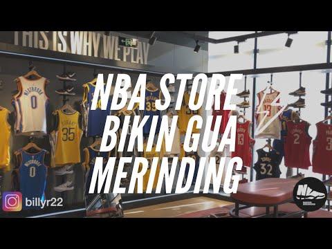 NBA STORE TOUR - Naksir Sneakers Vlog