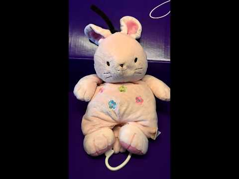 Carters child of mine rabbit musical plush