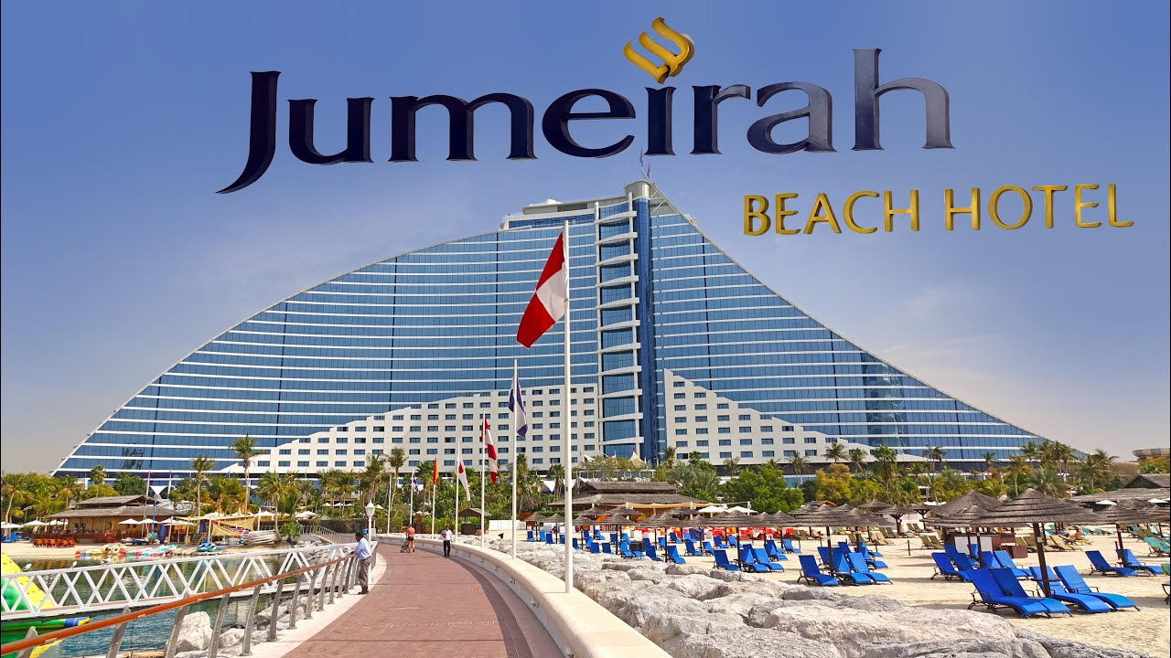Jumeirah beach hotel dubai 4k youtube for Dubai hotels near beach