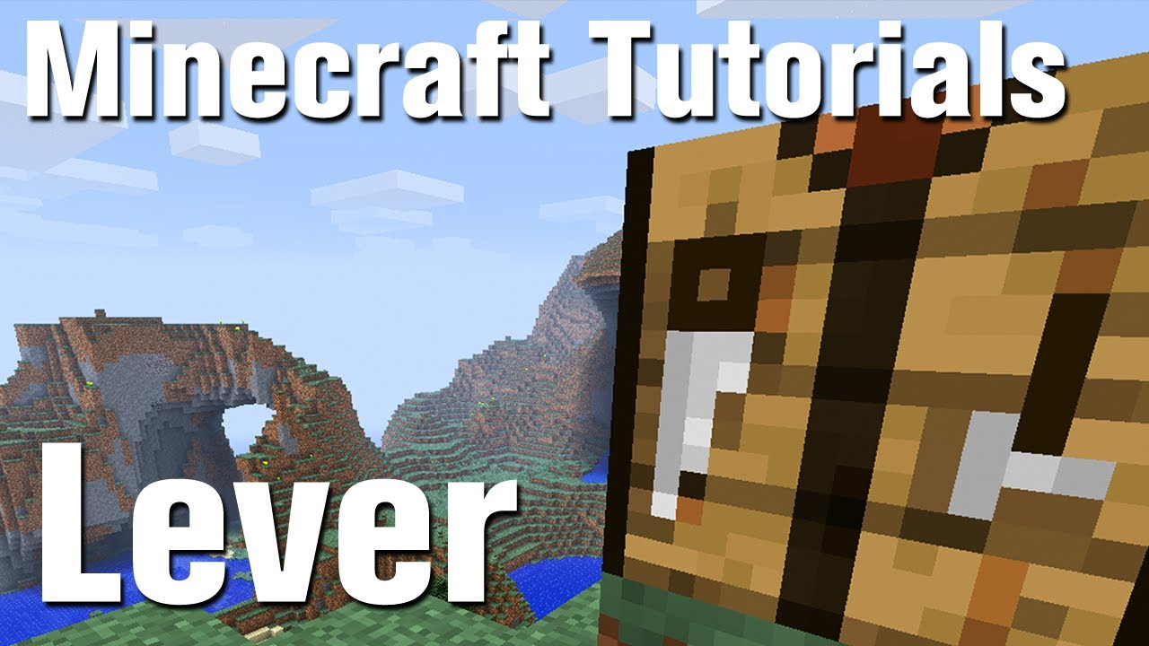 How to make a lever in the Maincraft, or Mechanization of the house