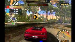 Need For Speed Hot Pursuit 2 (PS2) - Hot Pursuit Race 1