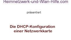 Die DHCP-Konfiguration einer Netzwerkkarte