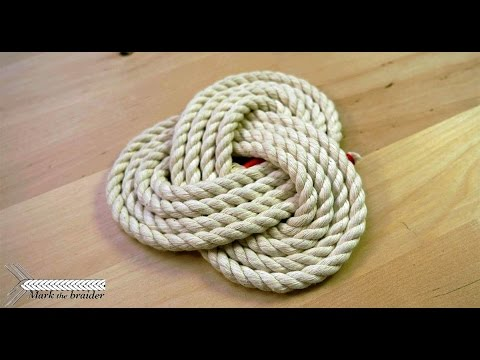 Simple Rope Mat Coaster You