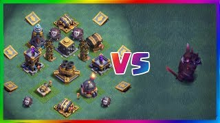 Super P.E.K.K.A VS All Defences | Super PEKKA Fighting All Defences | Clash Of Clans Private Server