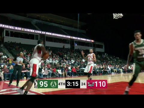 Chris McCullough Posts 15 points & 11 rebounds vs. Windy City Bulls
