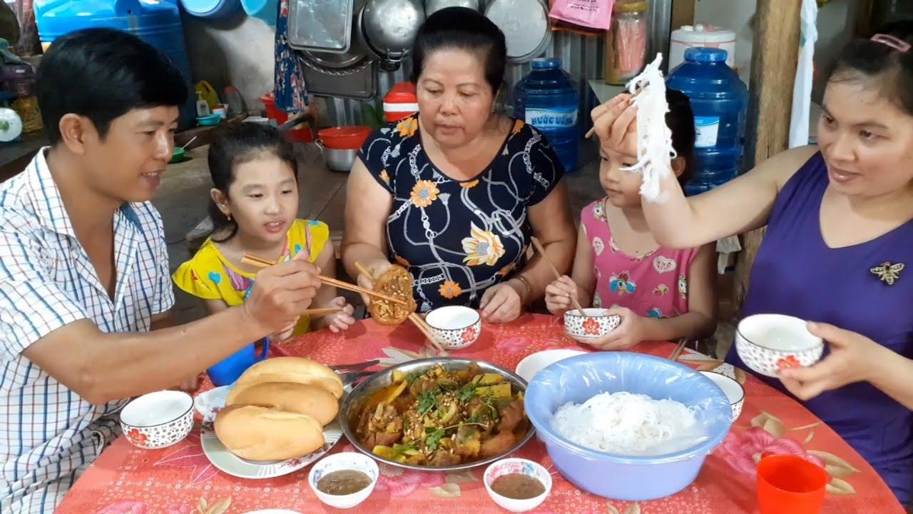 Giò Heo Giả Cầy Món Ăn Mẹ Làm Ngon Hết Sảy| TKQ & Family T362