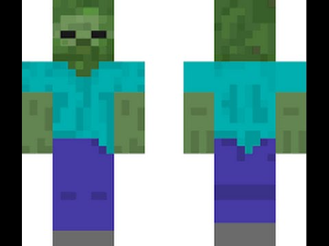 Minecraft Pe Zombie Skin YouTube - Skin para minecraft pe para descargar