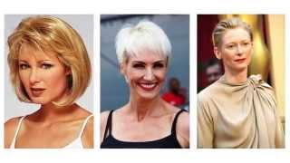 Cortes De Pelo Corto Para Mujeres De 50 Anos By Los Peinados De Moda