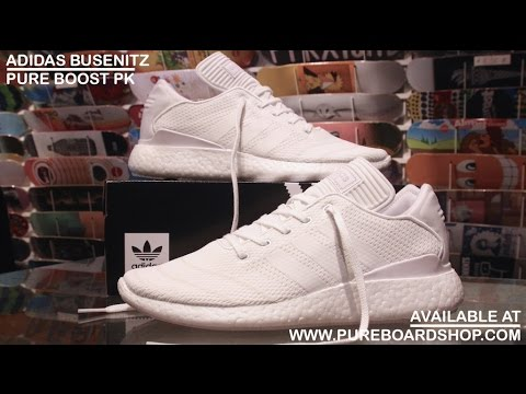new arrivals 3a9ad c8a6a Adidas Busenitz Pure Boost PK Triple White Review