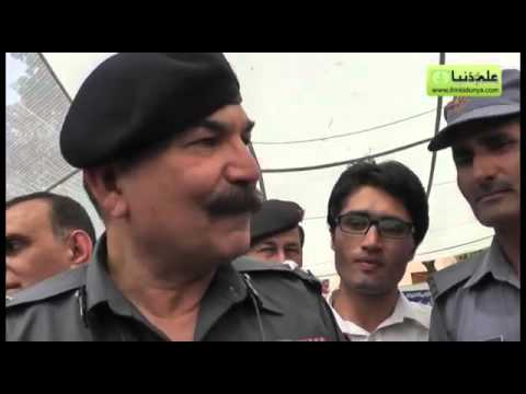 Interview of AIG Punjab Police Mr  Sarmad Saeed at GCU Book Fair 2013