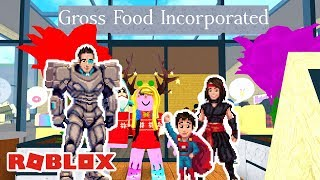 Roblox: GROSS FOOD INCORPORATED (Restaurant Tycoon)