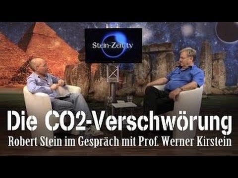 Die CO2-Verschwörung – Prof. Werner Kirstein bei SteinZeit