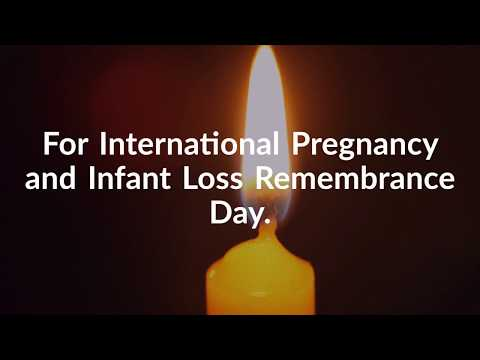 Pregnancy and Infant Loss Remembrance Day.