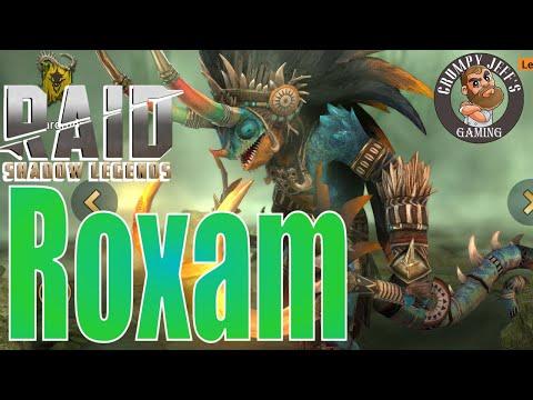Raid Shadow Legends Roxam Champion Review