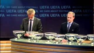Champions League 2011/2012 draw for the knockout stage