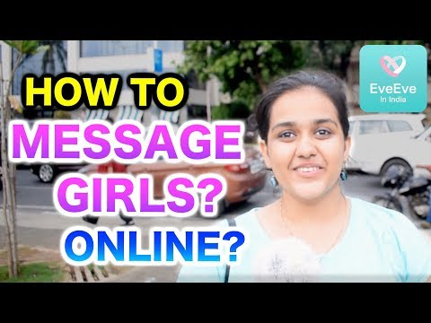 how to message on online dating site
