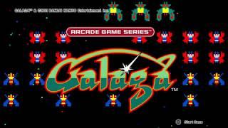 GALAGA classic arcade gaming