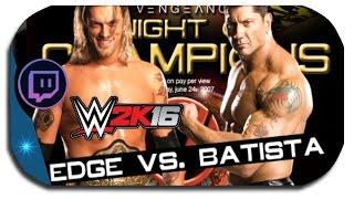 WWE2k16 - UFO VS. DELFINO / MP - ( GER ) Facecam