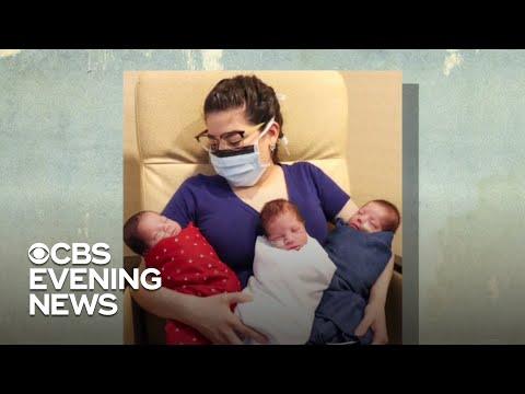 Texas woman gives birth to triplets after coronavirus diagnosis