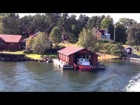 Imagine sailing through the Stockholm archipelago.