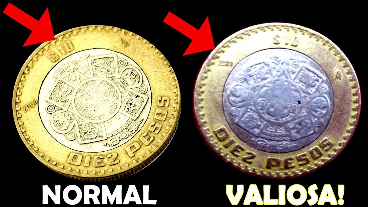 Moneda 10 Pesos Valiosa De Coleccion Youtube