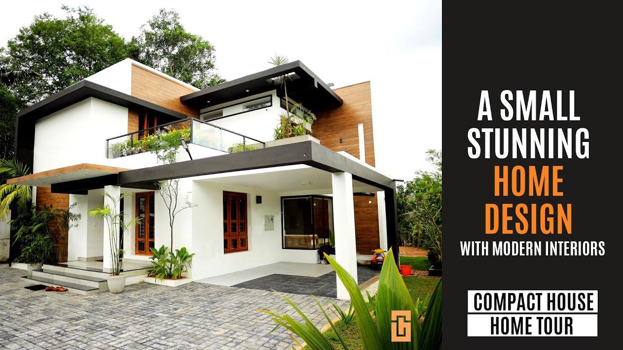 Small Modern Kerala Home design | 3 BHK 2000 sqft budget house Graphite Design Homes
