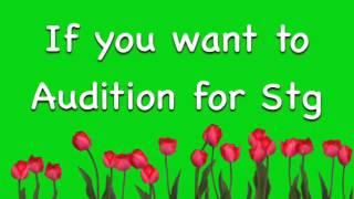 Audition Imfomation