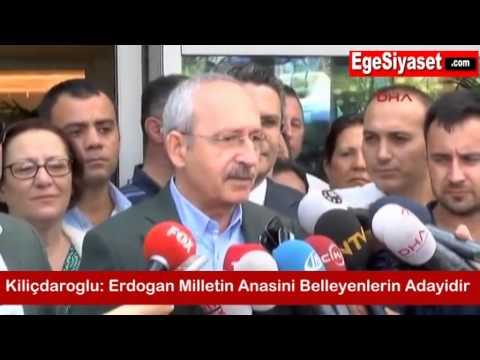 Kılıçdaroğlu: Erdoğan, Milletin Anasını Belleyenlerin Adayıdır