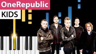"OneRepublic - Kids - Piano Tutorial - How to play ""Kids"" on piano"